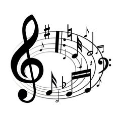 And similar cliparts - Musical notes clip art border, Musical notes clip art images. Girl Scout Songs, Daisy Girl Scouts, Girl Scout Troop, Girl Scout Crafts, Brownie Girl Scouts, Music Note Symbol, Music Notes Art, Music Symbols, Art Music