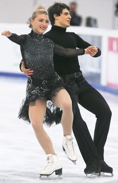 Piper Gilles and Paul Poirier of Canada Ice Dance Free  Rostelecom Cup 2013,  Ice Dance Costume inspiration for Sk8 Gr8 Designs.
