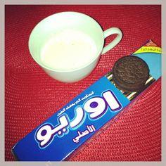 Arabischer Oreo mit Milch #keks #cookie #milch #milk