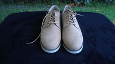 GH Bass & Co Fresno Mens Size US 9M Tan Suede Oxford Shoes New without Box #GHBassCo #Oxfords
