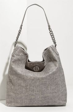424d012ba5a Tory Burch  McLane  Tweed Pattern Leather Hobo  475 Tory Burch Bag