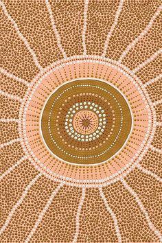 Indigenous Australian Art, Indigenous Art, Aboriginal Art Australian, Aboriginal Dot Painting, Dot Art Painting, Aboriginal Culture, Illustrations, Tribal Art, Doodle Art