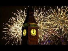 Gelukkig nieuwjaar. 2013 in met video's van vuurwerk uit wereldsteden