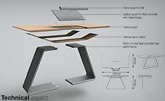 Ergonomic Table For Your Laptop   Yanko Design