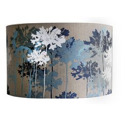 Floral Printed Linen Lampshade Blue And White - lampshades Duck Egg Blue Lounge, Duck Egg Blue Decor, Pale Blue Bedrooms, Blue Rooms, Blue Lamp Shade, Lamp Shades, Navy Bedroom Decor, White Bedroom, Master Bedroom