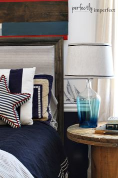 Boy's Bedroom Updates with Target Threshold | nautical bedroom | perfectly imperfect