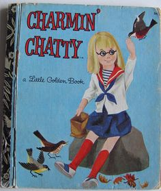 Charmin' Chatty  vintage Little Golden Book  1973 by recyclarama, $1.99