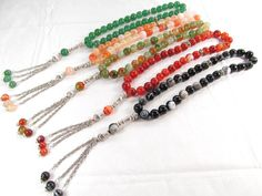 Natural semi-precious stone beads Bracelets Bangles