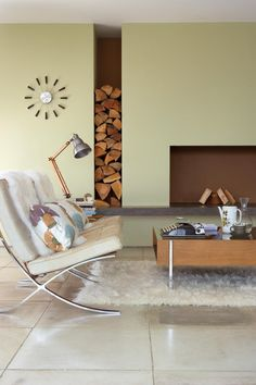 gorgeous neutral sitting room space