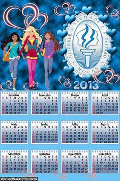 Calendários 2013 para a Organização das Moças