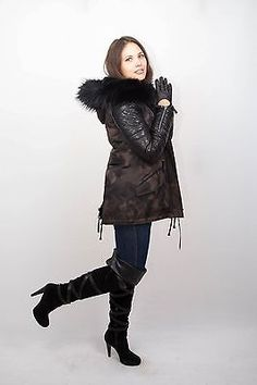 Куртка парка женская енот отделка не норка соболь нерц визоне норка зимняя  парка cb7dcf8ec5c