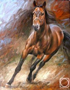 Picador - oil on canvas by Arthur Braginsky