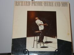 Richard Pryor  Here and Now Comedy Album from 1983  Recorded at Saenger Theatre in New Orleans, Louisiana, by GailsPopCycle on Etsy