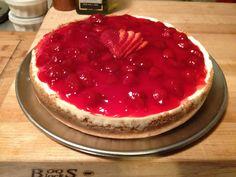 Strawberry cheese cake !