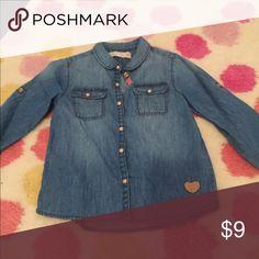Toddler girls Zara chambray shirt. 2-3T. Toddler girls Zara chambray shirt. 2-3T. Zara Shirts & Tops Button Down Shirts