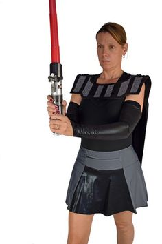GalacticLord Cape Align yourself with the Dark Side in this light-weight black wicking robe and belt combo. Destroy the Empire and your previous PR when you pair this running costume with a Zircon or BlackSilk running skirt that is guaranteed not to ride up. One size fits all.