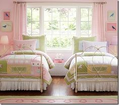 So sweet for two little girls.