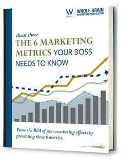 We can't call marketing successful until we know how to measure success. The problem is, nowadays, we have so many ways to measure! This guide will walk you through six critical marketing metrics your boss really wants to see.  #Marketing #MarketingMetrics #InboundMarketing