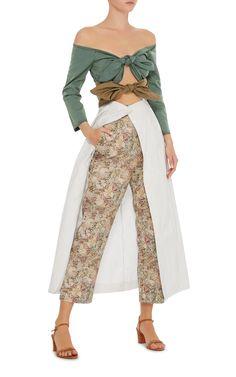 Isa Arfen -- Double Knot Long Sleeve Dress