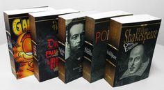 Série Ouro L: textos selecionados, de Shakespeare, Machado de Assis, clássicos de terror e até quadrinhos.