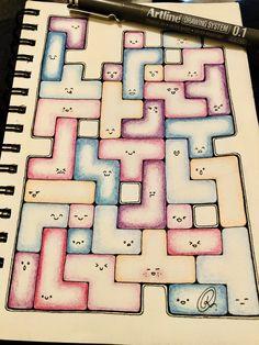 #patterns #colours #pencildrawing #cute #doodles (Reiha Conrad)