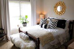small bedroom with king size bed - Google Search
