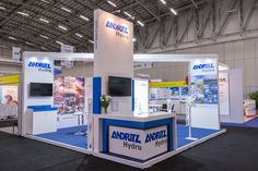 Andritz #exhibitionstation at the #PowerGenAfrica conference designed by #369.  @PowerGen Africa #temparchitecture