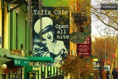 Yaffe Cafe just a few blocks up the street. open 24-7 great food! Healthy! And very cool vibe. This place is a East Village famous establish...