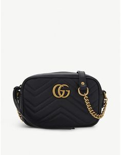 7747bc26914 Gucci GG Marmont mini quilted leather cross-body bag #gucci #ShopStyle  #MyShopStyle