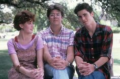 Sixteen Candles - Jake: I do independent study with her. I catch her lookin' at me a lot. It's kinda cool, the way she's always lookin' at me.   Jock: Maybe she's retarded.   Jake: I'm being serious, okay? She looks at me like she's in love with me.
