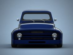 Hot Rod Ford Pickup Truck | classic hot rod pickup truck 3ds - Ford F-100 pickup truck... by ...