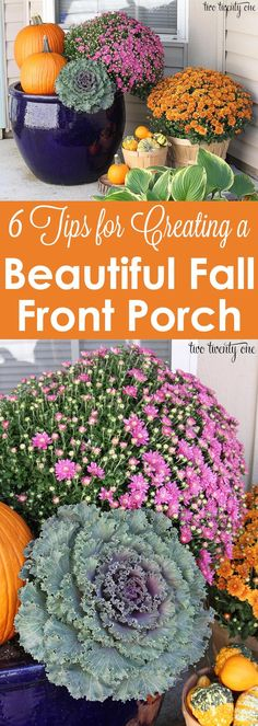 6 Tips for Creating a Beautiful Fall Front Porch!