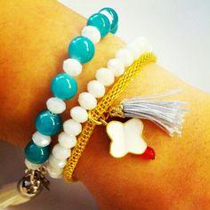 Love them!!! Love, Bracelets, Amor, El Amor, Bracelet, Arm Bracelets, Bangles, Super Duo