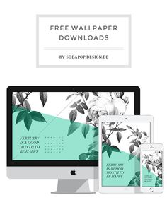 Free Wallpaper for Desktop, iPhone and  iPad, via soda pop-design.de