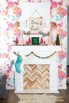 Bohemian Christmas, Modern Christmas, Christmas Love, All Things Christmas, Christmas Holidays, Merry Christmas, Happy Holidays, Christmas Ideas, Christmas Crafts