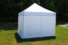 Tuff Tent with Side Walls Aluminum Instant Pop Up Canopy. www.kingcanopy.com