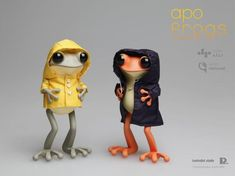 Apo Frogs Figures
