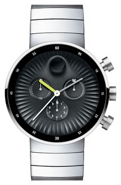Movado 'Edge' Bracelet Watch, 42mm available at #Nordstrom