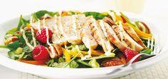 Salade californienne au poulet