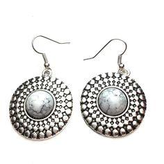 Natural stone earrings Natural stone earrings Jewelry Earrings