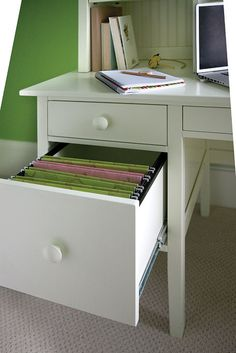 Big Cay Desk With Library Hutch Maine CottageOffice