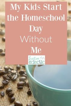 Did you think homeschooling would get easier as your kids got older? You're both right and wrong. Read how this simple schedule change has helped my older kids become more independent and has given me a little break in the morning.