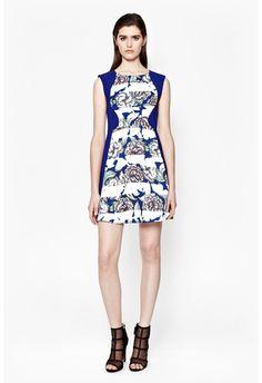 Bonita Spring Stripe Skater Dress