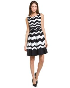 Zig-zag dress