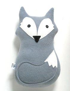 DIY in fox-orange? Softie Pattern, Fox Pattern, Stuffed Animal Patterns, Diy Stuffed Animals, Fox Pillow, Fox Toys, Grey Fox, Felt Animals, Sewing For Kids