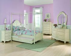 Homelegance 1386TPP-1 Cinderella Collection Color Ecru White
