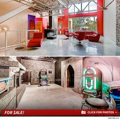 """""""Ghost Adventures"""" star Zak Bagans fled his Las Vegas home years ago -- but now he's finally ready to sell the place for dirt cheap . Ghost News, Haunted Houses For Sale, Ghost Adventures Zak Bagans, Las Vegas Homes, Dirt Cheap, Roommate, Townhouse, Mansions, House Styles"""