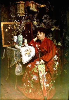 vintage everyday: Women in Autochrome – Breathtaking Color Portrait Photos of Women in the Early Century Art Nouveau, Belle Epoque, Vintage Photographs, Vintage Photos, Vintage Pins, Subtractive Color, Art Français, Colorized Photos, Color Photography