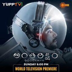 #Antariksham on #GeminiTV Tv Channels, Master Chief, Gemini, Indian, Usa, Live, Movies, Movie Posters, Fictional Characters