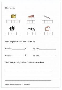 Vi ska träna på att skriva Kk och lyssna på bokstavsljud i ord och träna på att skriva bokstäverna. Vi ska även skriva frågor och svar med ordbilden kan, både för hand och på iPad. Gå in på bloggen och skriv ut därifrån så blir det bättre kvalitet :)